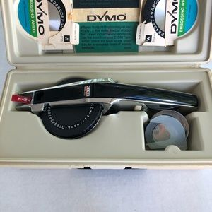 Dymo 1570 vintage label maker